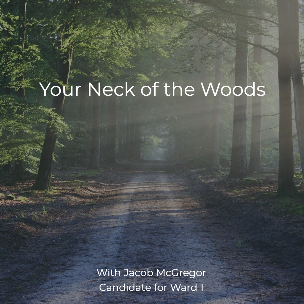 Your Neck of the Woods - Template Cover